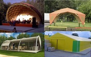 Hangars- Domes- Pavilions. Design / Production / Sale